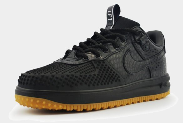 Nike Lunar Force Duckboot Low черные