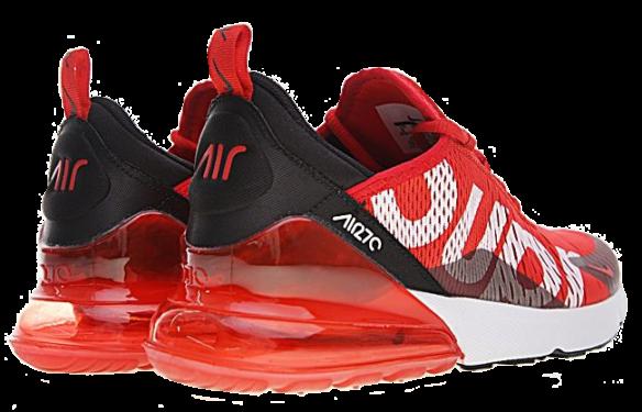 Фото Supreme x Nike Air Max 270 Красные - 3